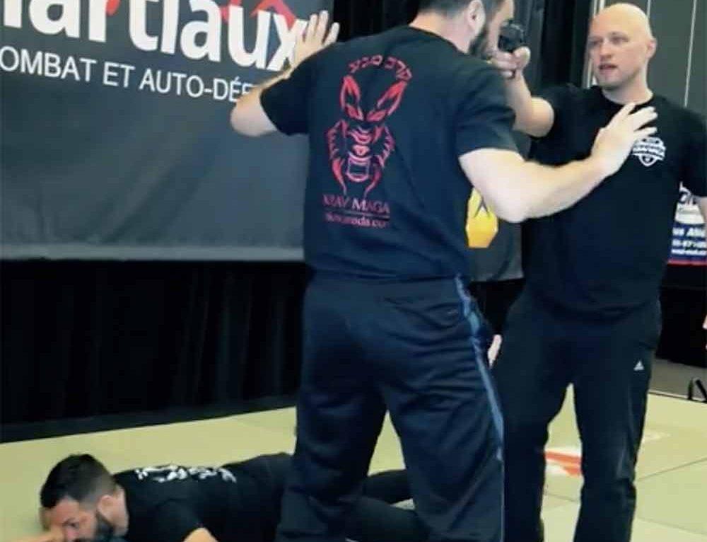 MKM Canada – Krav Maga at International Martial Arts Show (Montreal) 2017