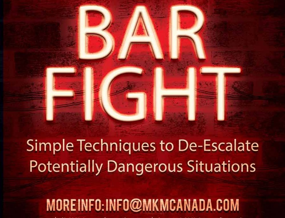 Bar Fight – Krav Maga Seminar