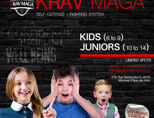Kids and Juniors Krav Maga Classes